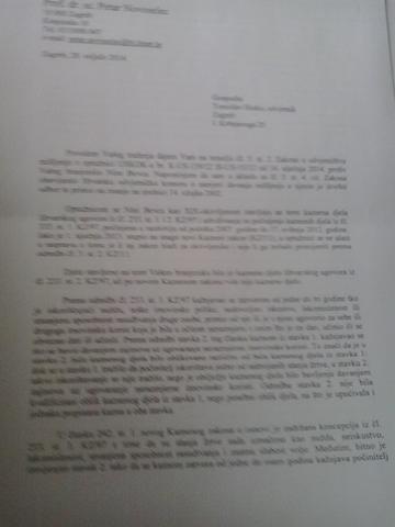 KREDITNI URED - MIŠLJENJE PROF. DR. SC. PETAR NOVOSELEC
