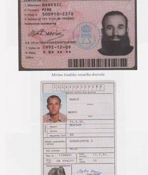 Miro Barešić - putovnica