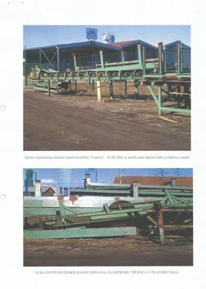 Hrvatska  - devastacija strojeva radi prodaje u staro željezo