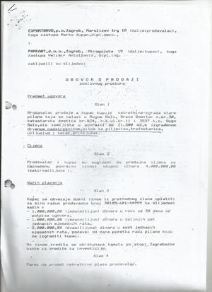 PARKANT - Exportdrvo, nezakonita prodaja nekretnina u društvenom vlasništvu