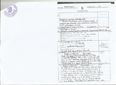 Povijesni izvadak z.k. uložak 11 - nekretnine u društvenom vlasništvu s pravom korištenja Exportdrvo 1991 godine