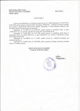Parkant d.o.o., direktor Parkanta bio je Ivan Drvodelić