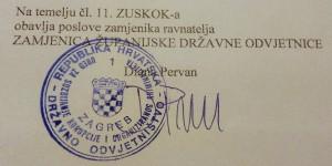 Diana Pervan - USKOK 1