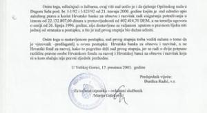 RJEŠENJE ŽUPANIJSKOG SUDA U VELIKOJ GORICI, ORIGINAL 001 (2)