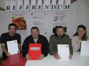 Ivan Sinčić i Vladimira Palfi - Referendumski ustanak