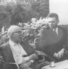 Prof. dr. Lavoslav Ružička i Dragan Hazler predsjednik HAZUDD-a