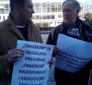Drago Raspudić - PROSVJED - PALAČA PRAVDE