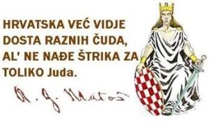 Hrvatska već vidje raznih čuda, al ne nađe toliki broj Juda