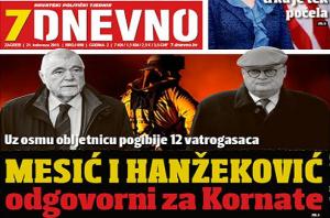 Mesić i Hanžeković odgovorni za Kornate