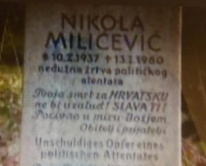 UDBA - Nikola Miličević