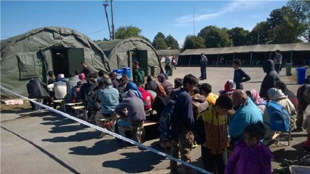 Opatovac -  izbjeglički kamp