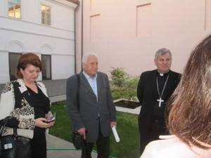 Članovi HAZUD-a kod biskupa Košića 10