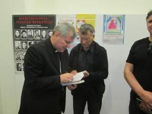 Članovi HAZUD-a kod biskupa Košića 6