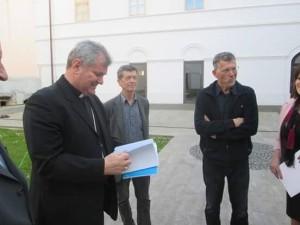 Članovi HAZUD-a kod biskupa Košića 8