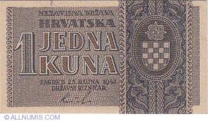 Nezavisna država Hrvatska - Hrvatska kuna
