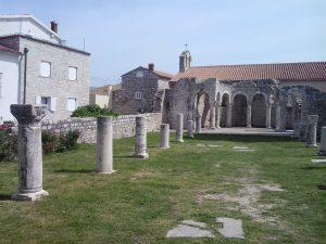 Ruševine rimskog grada na Rabu