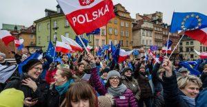 Prosvjednici - Poljska