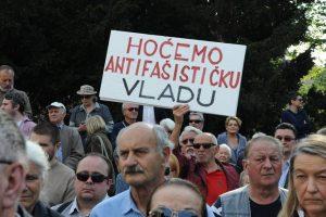 JASENOVAC NA TRGU ŽRTAVA FAŠIZMA - 22. TRAVNJA 2014. - HOĆEMO ANTIFAŠISTIČKU VLADU