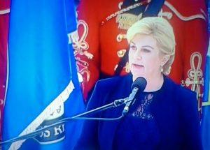 Predsjednica RH - Knin 05.08.2016. - Oluja