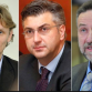 Đikić, Plenković, Barišić