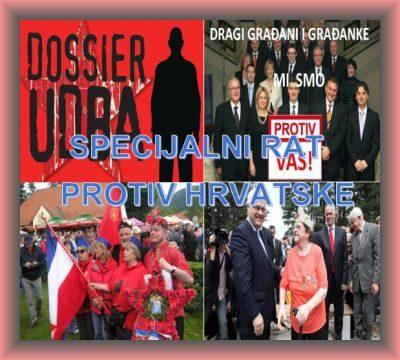 Specijalni rat protiv Hrvatske -