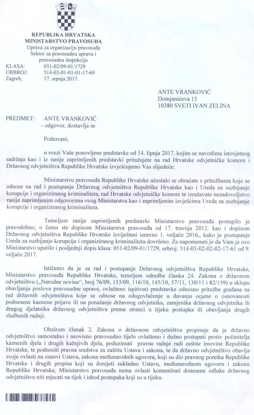 Vranković - Prilog 1