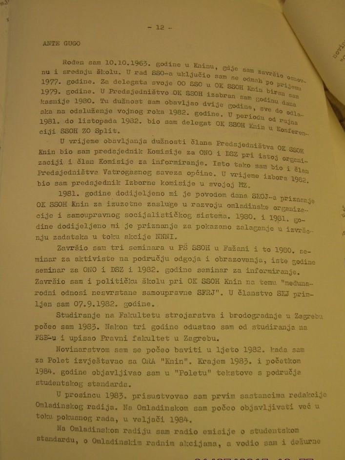 Biografija Ante Gugo