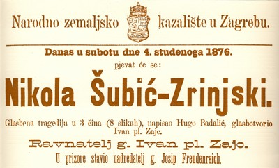 ZA DOM - Opera Nikola Šubić Zrinjski
