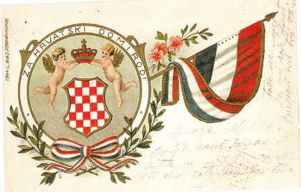 Za hrvatski dom i rod - povijesna razglednica