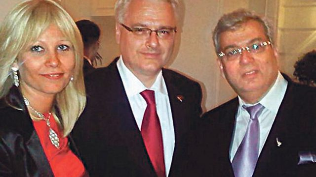 Maja Brinar, Aaron Frenkel, Ivo Josipović