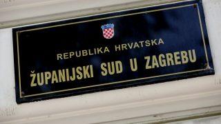 Zagreb, 22.04.2016. - Ploèa s natpisom Županijski sud u Zagrebu. foto HINA/ Lana SLIVAR DOMINIÆ/ lsd