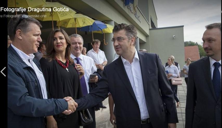 Dragutin Gotić - Andrej Plenković, Ljubešćica