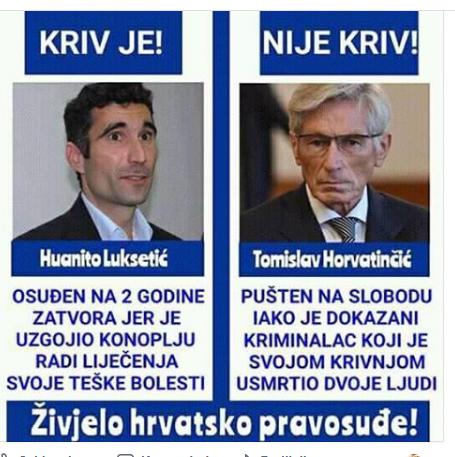 HRVATSKO PRAVOSUĐE - KRIV JE, NIJE KRIV