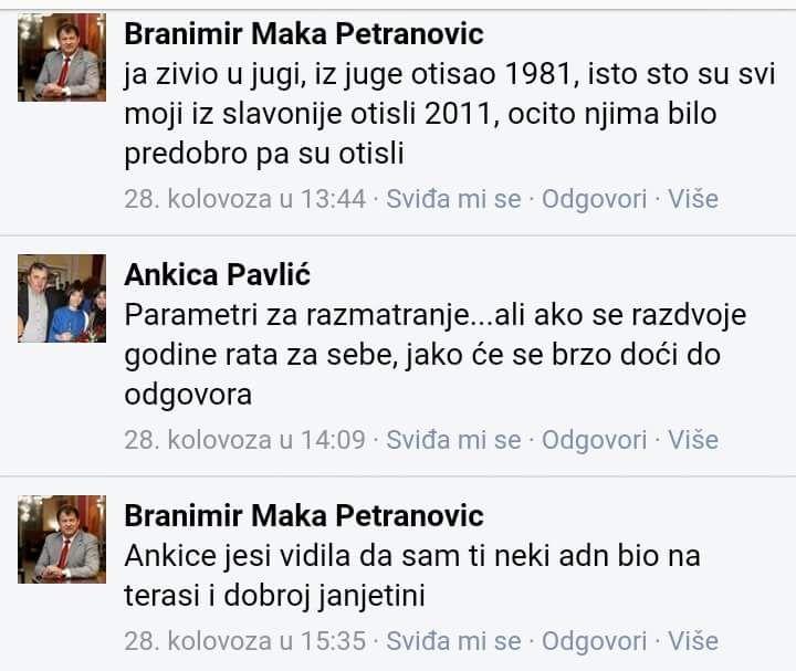 PETRANOVIĆ BRANIMIR - JA ŽIVIO U JUGI