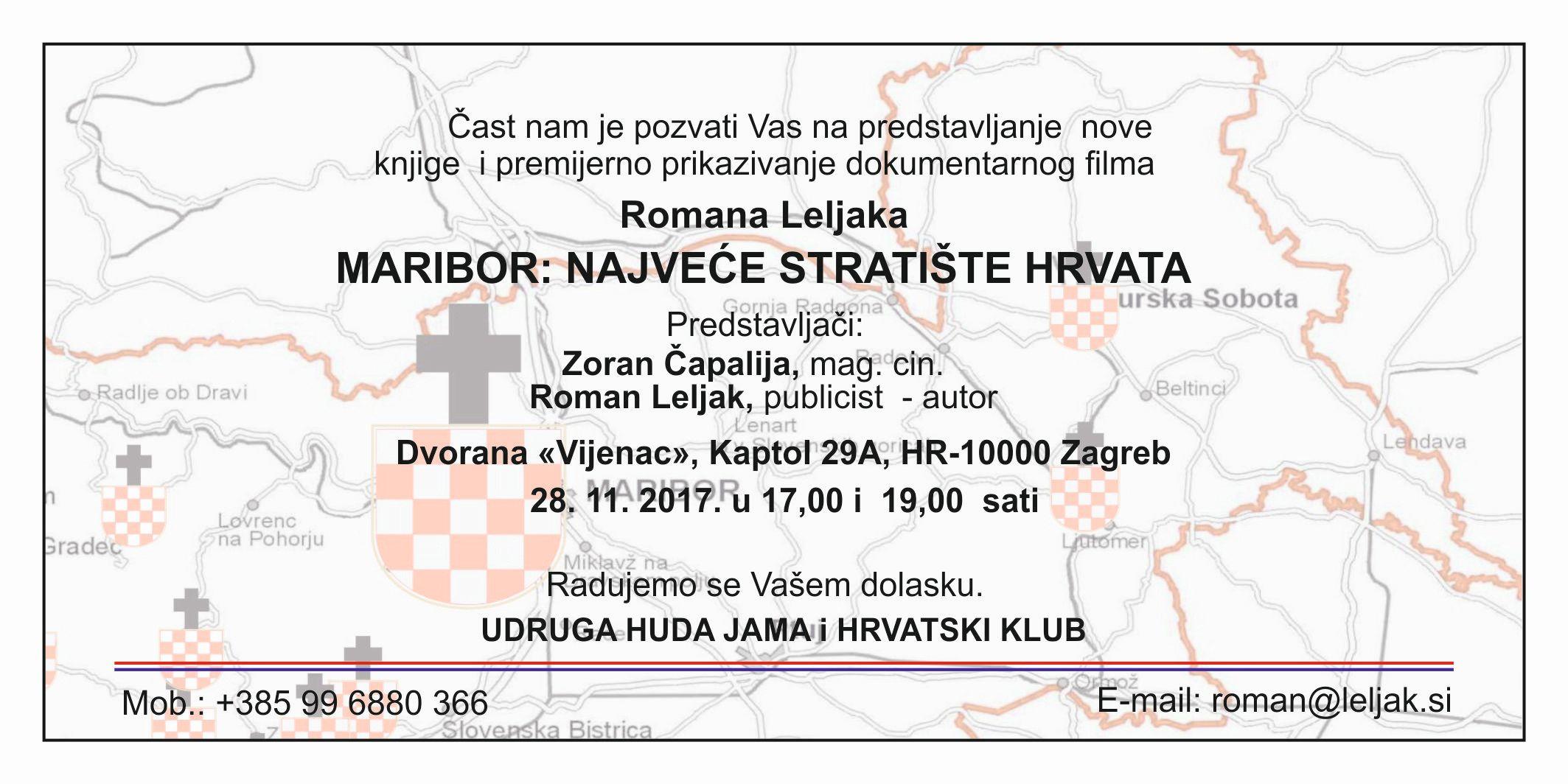 ROMAN LELJAK - FILM O UBOJSTVIMA HRVATA