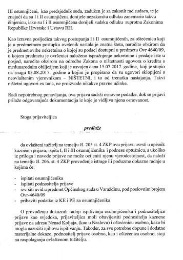 kaznena prijava protiv sutkinje horvat kliček - str. 6