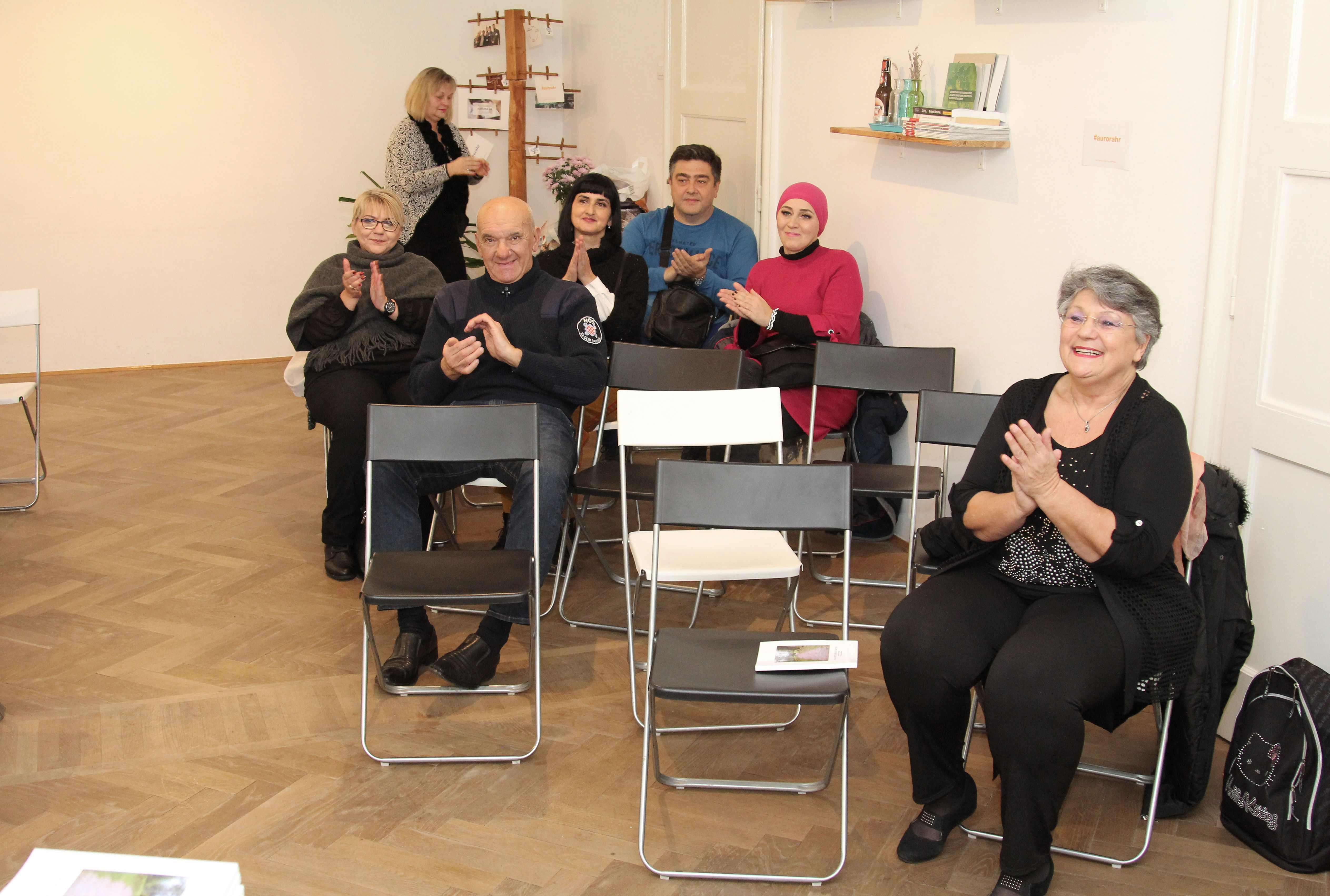 Predstavljanje knjige Nada Landeka Emilija Herceg - publika