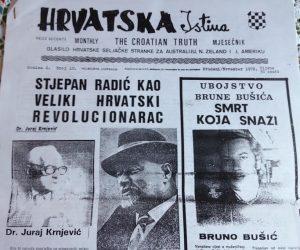 Ubojstvo Brune Bušića - smrt koja snaži